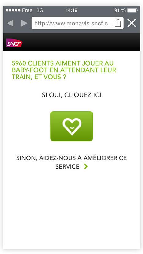Graphisme & interactivité blog de design par Geoffrey Dorne » J'ai testé pour vous : «Je n'aime pas la SNCF» | Entrepreneurs du Web | Scoop.it