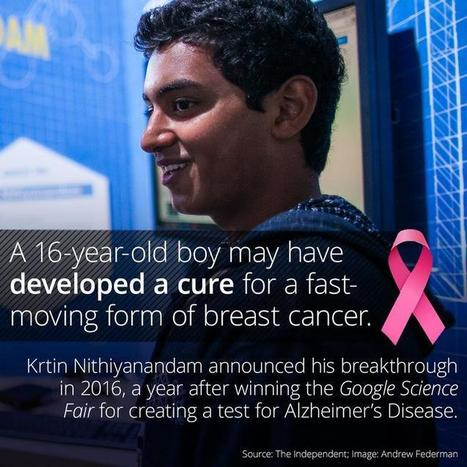 A 16-Year-Old Boy May Have Cured A Form Of Breast ...   Science and Tech news   Scoop.it