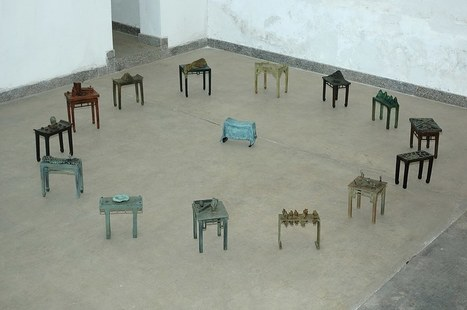 """Joop Haring: """"Chinese Table Project"""" 
