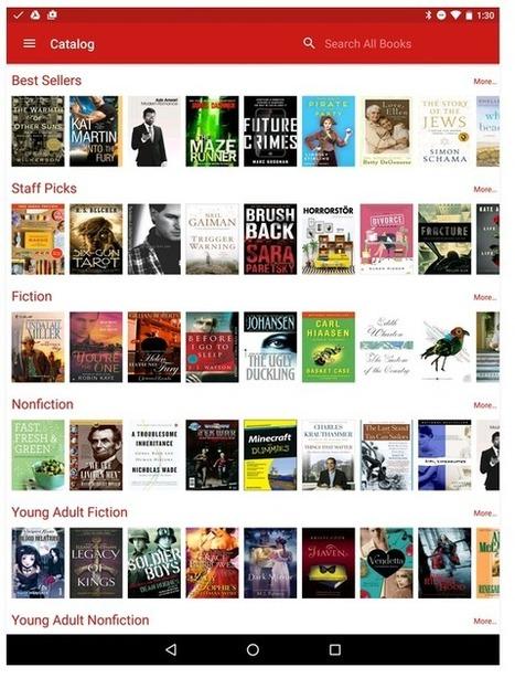 A New York, une application et 300 000 livres à emprunter gratuitement | Veille professionnelle des Bibliothèques-Médiathèques de Metz | Scoop.it