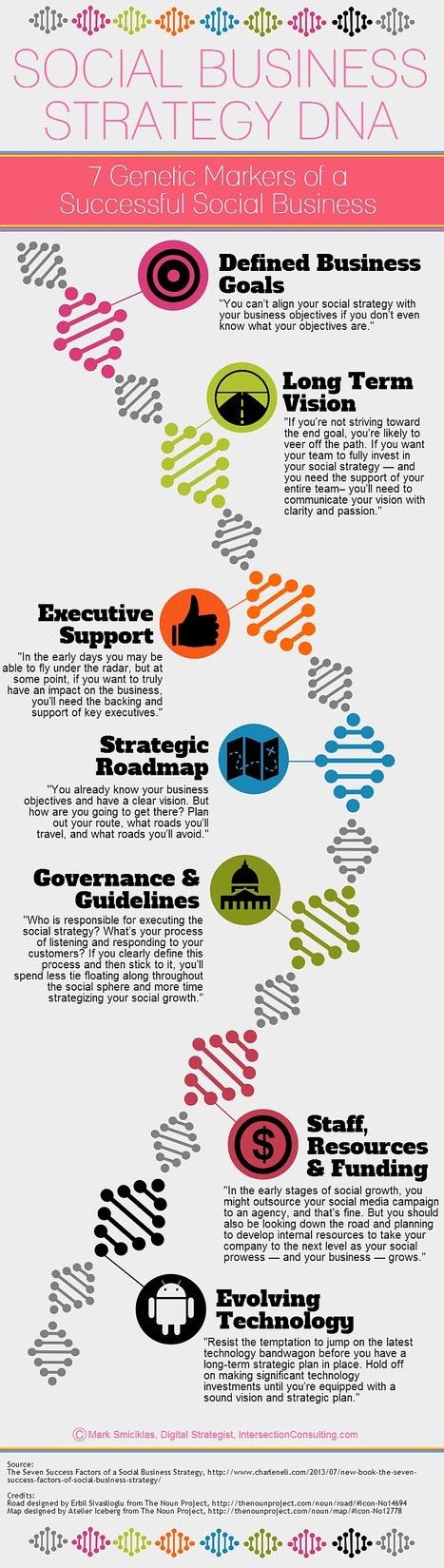 Social Business Strategy DNA [Infographic] | Social Media & Internet Marketing Infographics | Scoop.it