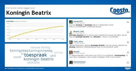 Beatrix schrijft social media geschiedenis, aldus Coosto | FMT Realtime Revolutie | Scoop.it