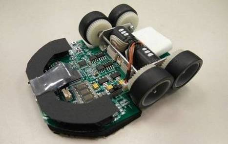 Vidéo : Le robot Min7 remporte la compétition MicroMouse 2011 ...   Des robots et des drones   Scoop.it