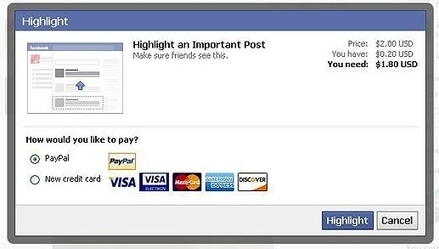 Facebook Expands Testing Of Highlight Feature For Users - AllFacebook   Digital Media Strategies   Scoop.it