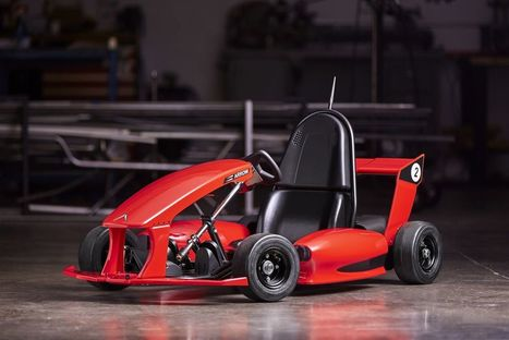 This $599 smart go-kart can literally do donuts around Power Wheels | Heron | Scoop.it