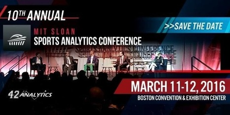 MIT Sloan Sports Analytics Conference 2016   lIASIng   Scoop.it