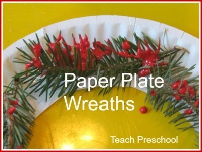 Pine needle paper plate wreaths are simply beautiful | Simple Christmas | Scoop.it
