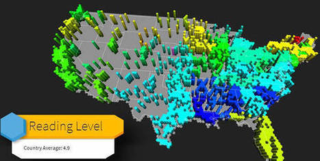 What Is Your State's Reading Level Based On 500,000 Tweets? | AP Human Geography | Scoop.it