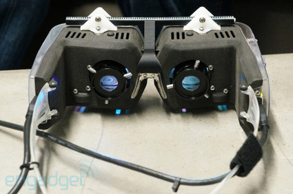 The Curious Technologist • Avegant's head-mounted virtual retinal display... | HMD | Scoop.it