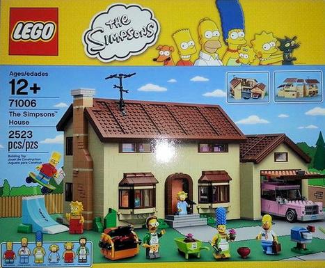 Les Simpson débarquent chez Lego | Innovation | Scoop.it