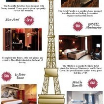Top 6 Romantic Boutique hotels in Paris | Visual.ly | Myboutiquehotel.com | Scoop.it