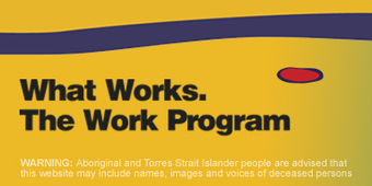 What Works - The Work Program - Improving Outcomes for Indigenous students | Teachers and Professional Development | Scoop.it