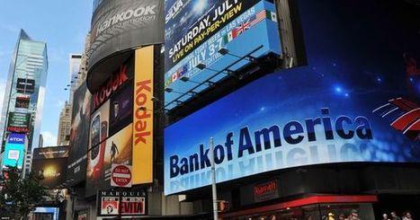 Bank of America : une amende pour l'exemple | Economie et Finance | Scoop.it