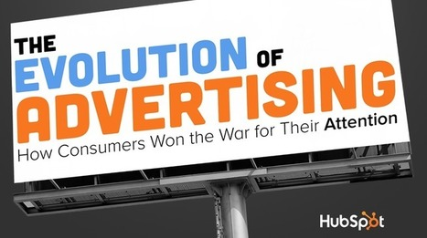 The History of Advertising: How Consumers Won the War for Their Attention [SlideShare] | Bite Size Business Insights | Scoop.it