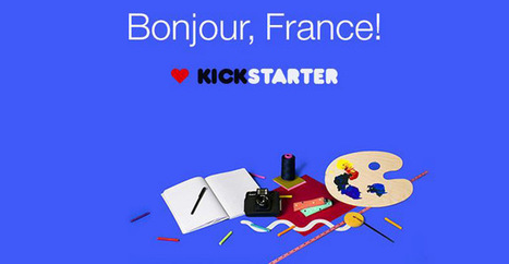 Kickstarter: les projets français font leur apparition | Le Zinc de Co | Scoop.it