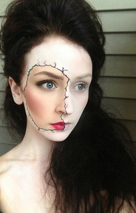 Easy Halloween Makeup Ideas - 2014 | Mission Aveda Salon | Scoop.it