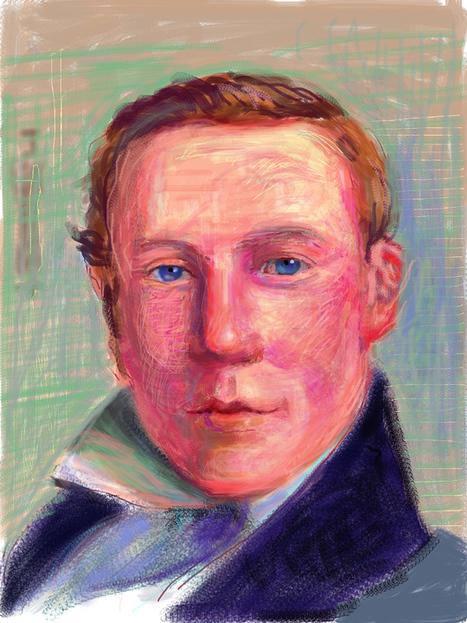 "Juxtapoz Magazine - David Hockney: ""Me Draw on IPad"" in Humlebaek, Denmark | Current | iPad for Art | Scoop.it"