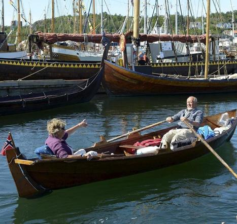 Sandefjords Blad - Erik (84) rodde fra Oslo til Sandefjord - Sandefjords Blad   Kystkultur i Norden   Scoop.it