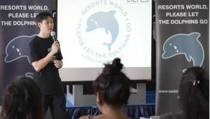 Animal rights groups in Philippines resist export of wild dolphins to RWS | Earth Island Institute Philippines | Scoop.it