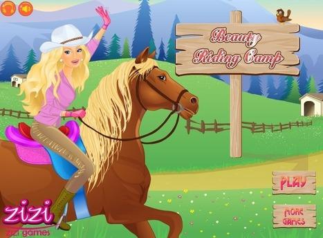 تلبيس باربي فوق الحصان | العاب تلبيس بنات | Scoop.it
