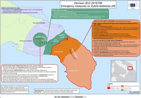 Olive Oil Times: European Commission Publishes Xylella Fastidiosa Factsheet (2015) | Plants and Microbes | Scoop.it