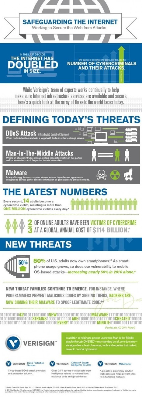 INFOGRAPHIC: Safeguarding the Internet | Between the Dots | Verisign | Cloud Central | Scoop.it