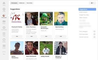 "Google Plus Daily: [Update] ""Circles"" Changed to ""Find People ... 