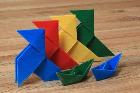 Paper Modelling | 3D Print Plan | All about 3D Printing | Origami and Geometry ond math | Scoop.it