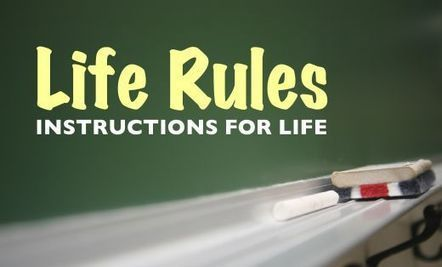 Four Timeless Rules for Life | 3 Bald Guys | Interesting Topics To Read | Scoop.it