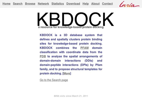 KBDOCK - a protein domain-domain interaction database | bioinformatics-databases | Scoop.it