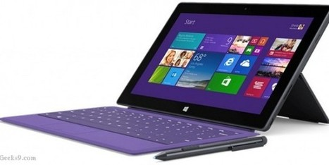 Surface Pro 2 tablet review: Specifications and Price | Geeks9.com | Technology Updates | Scoop.it