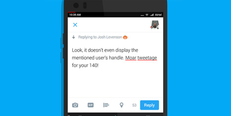 Twitter is testing relaxed character limits for replies | Nerd Vittles Daily Dump | Scoop.it