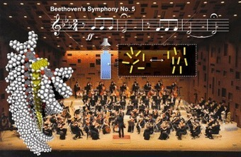 Nanofibers align to the sound of Beethoven and Mozart | Physics | Scoop.it