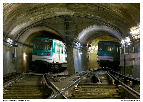 sleepycity | photography urban exploration | Demolition of the Paris Metro | Photos | Scoop.it
