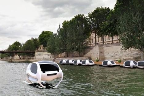 On pourra bientôt traverser Paris en 15 min à bord d'une voiture volante   Planete DDurable   Scoop.it