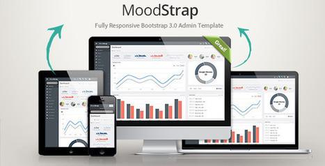 MoodStrap Responsive Bootstrap Admin Template (Admin Templates)   Site Templates Download   Scoop.it