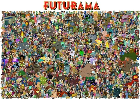 The cast of Futurama | Sociedad | Scoop.it