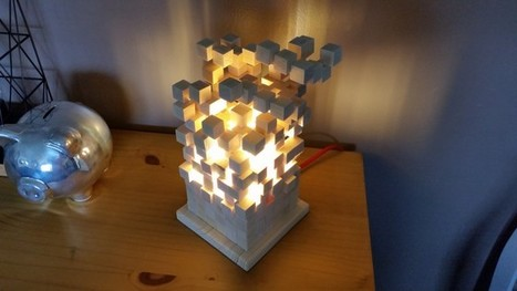 [Coup de ♥] Lampe KUBIX par Chris3189 sur le #CDB | Best of coin des bricoleurs | Scoop.it