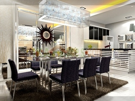 Modern Dining Room Furniture Design, Chair, Table Models | Interior Design and Furniture | Scoop.it