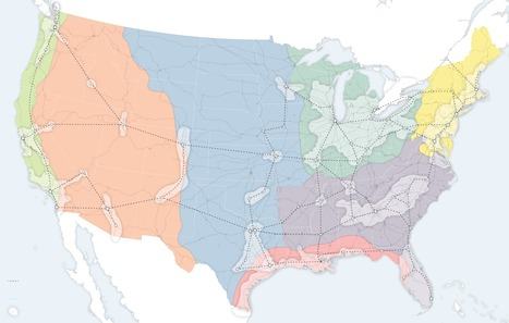 A New Map for America | Primary Geography | Scoop.it