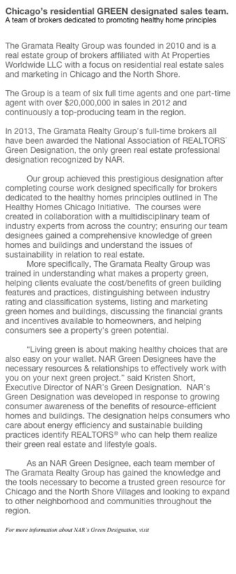 Working hard towards a future of healthy, safe, sustainable and efficiently improved homes in Chicago and the North Shore. | Healthy Homes Chicago Initiative | Scoop.it
