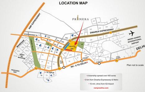 Ramprastha Primera, Sector 37D, Gurgaon II Location Map | Ramprastha Primera, Sector 37D, Gurgaon II Subvention Scheme | Scoop.it