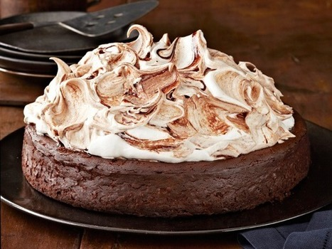 Valentine's Day Chocolate Desserts : Food Network | DESSERTS FOR THE COOK | Scoop.it