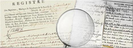 Comment faire une recherche généalogique - Archives départementales d'Indre et Loire | Nos Racines | Scoop.it
