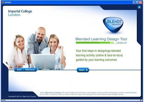 BLEnDT© - Blended Learning Design Tool | multimodalité | Scoop.it