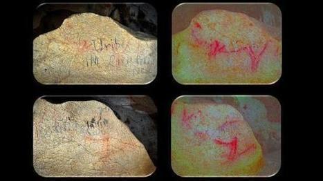 Hallan pinturas rupestres de gran tamaño en una cueva de Vizcaya | Arqueología, Historia Antigua y Medie