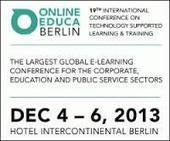 L'elearning alla XIX edizione di Online Educa Berlin | digital&social learning | Scoop.it