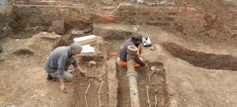 Roman cemetery – under another car park in Leicester : Archaeology News from Past Horizons | Archaeology News | Scoop.it