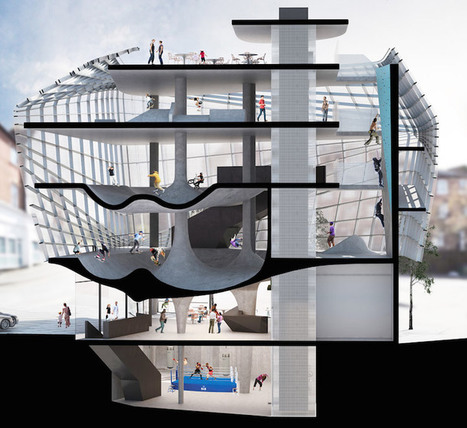 Skaters Rejoice Over the World's First Multi-Story Skatepark | Le It e Amo ✪ | Scoop.it