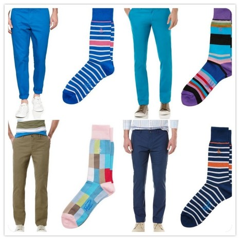Original Penguin socks with your summer chinos? Approved. | vanitysocks | Scoop.it